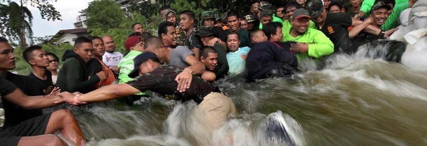วิธีกู้ภัยน้ำท่วมและป้องกัน