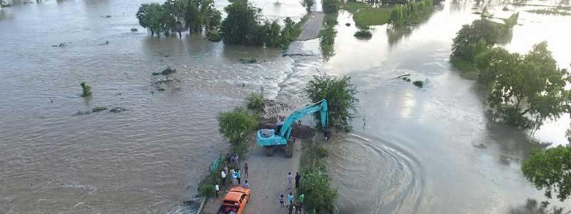 ฝนตกสะสม ปภ.เร่งช่วยเหลือผู้ประสบภัย จ.บุรีรัมย์