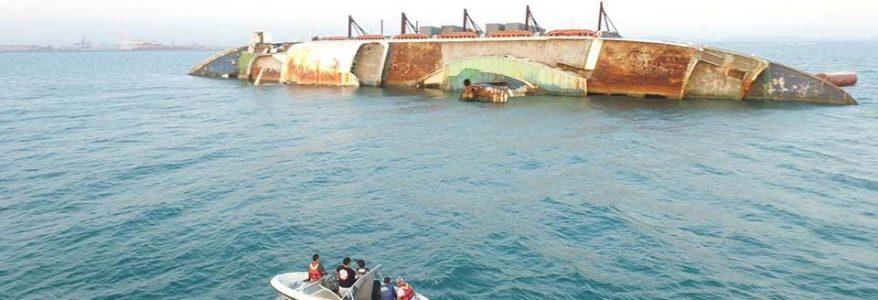 วิธีการกู้ภัยเรือล่มในทะเล